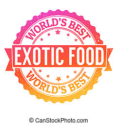 Exotic food stamp