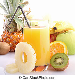 exotic fruit juice - fruit juice or punch