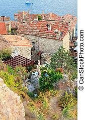 Exotic garden in Eze village