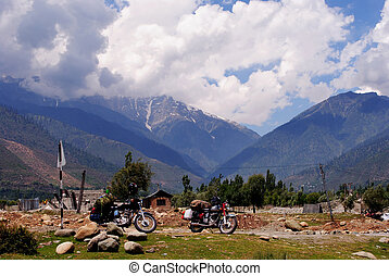 Exotic Ladakh landscape