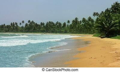 exotic matara beach, sri lanka