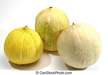 casaba crenshaw honeydew melons
