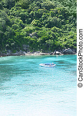 Exotic paradise bay