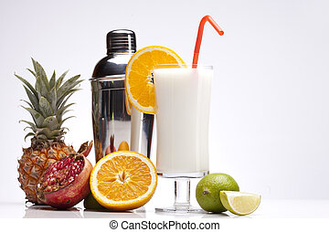 Exotic Pina Colada Drink
