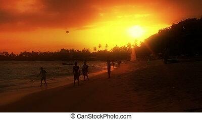 exotic unawatuna beach, sri lanka