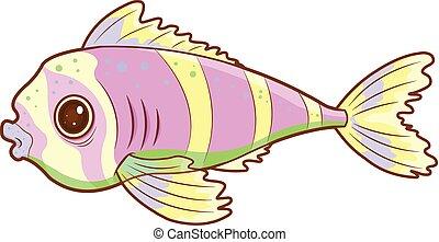 exotique, fish