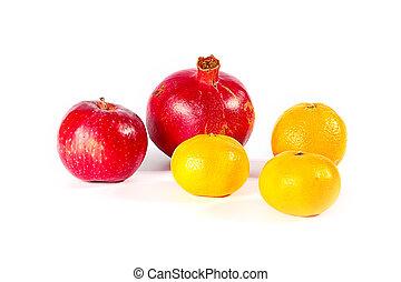 exotique, fruits frais