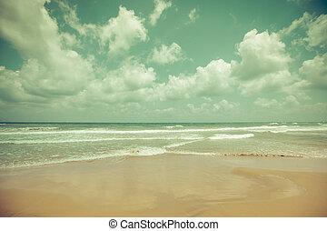 exotique, idyllique, plage