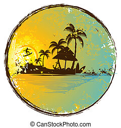 exotische , eiland