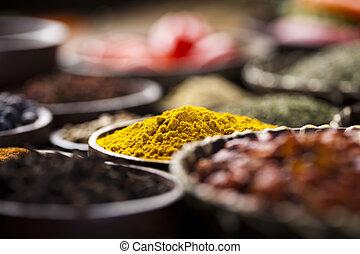 exotisk, kryddor