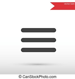 Expand menu button. Black icon vector and jpg. Flat style object. Art picture drawing. Eps 10. Elements for your design. Web icons.