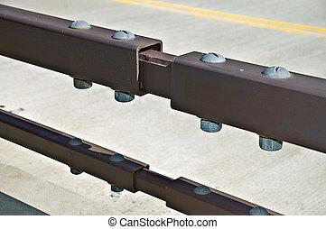 Expansion Joints on a Bridge
