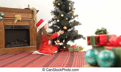Expecting Christmas - Child expecting Christmas