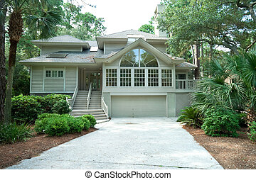Expensive and modern single family home in a gated...