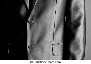 Expensive business suit - Close-up of an expensive business...