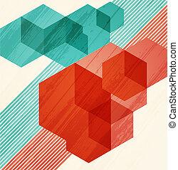 experiência., abstratos, cubismo