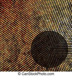 experiência., abstratos, eps, mosaico, 8