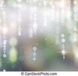 experiência., abstratos, feriado, natal, bokeh