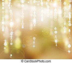 experiência., abstratos, feriado, natal, fundo