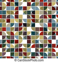 experiência., abstratos, seamless, mosaico