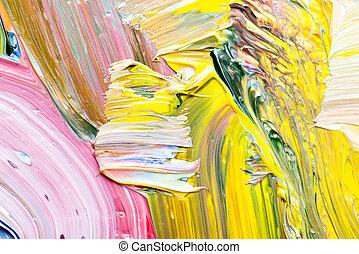 experiência., arte abstrata