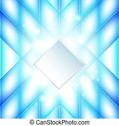 experiência azul, abstratos