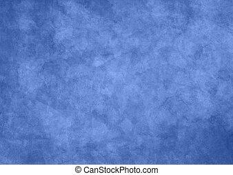 experiência azul