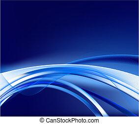 experiência azul, vetorial, abstratos