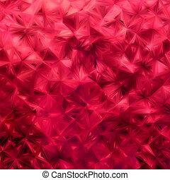 experiência., brilhar, eps, vermelho, 8