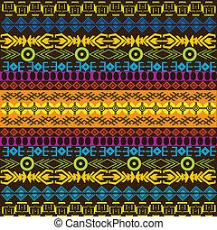 experiência colorida, africano