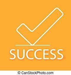 experiência., conceito, negócio, sucesso