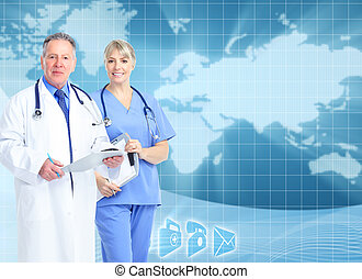 experiência., cuidado saúde