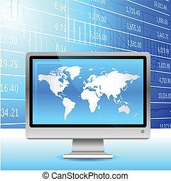 experiência., economia global