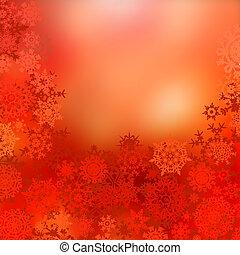 experiência., eps, natal, vermelho, 8