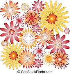 experiência., flor