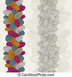 experiência., funky, vetorial, coloridos