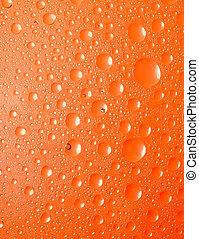 experiência., líquido, vidro, abstratos