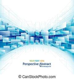 experiência., perspectiva, abstratos