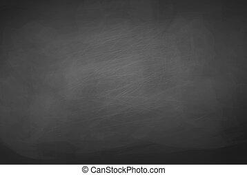 experiência., pretas, chalkboard