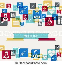 experiência., saúde médica, cuidado