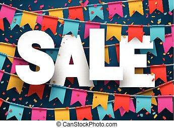 experiência., venda, celebração