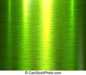 experiência verde, textura, metal