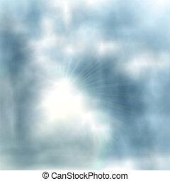 experiência., vetorial, céu, eps10