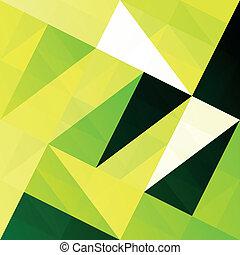 experiência., vetorial, verde, eps10, remendo