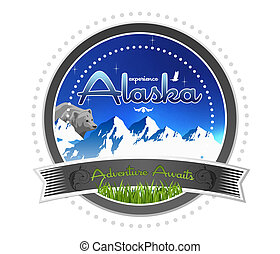 Experience Alaska - High Resolution graphic of Experience...