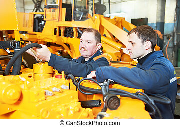 experienced industrial assembler workers