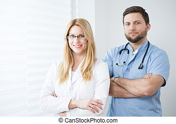 Experienced physicians