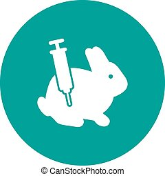 Experiment - Lab, experiment, science icon vector image. Can...