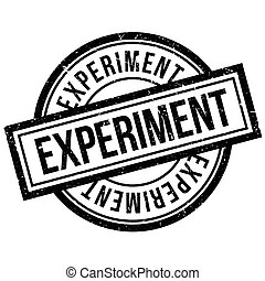 Experiment rubber stamp