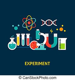Experiment Science Concept